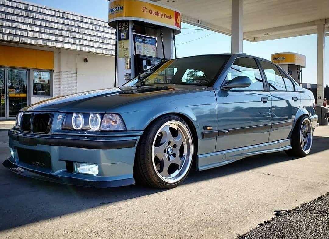 Bmw style 21 wheels e36